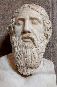 Homer: possibly the oldest dead white Euro man