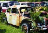 VW garden containter