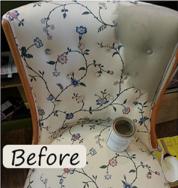 bird bee chair before