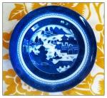 blue canton soup bowl