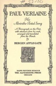 Paul Verlaine: His Absinthe-Tinted Song