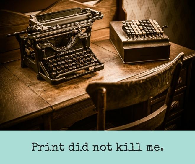 image of old typewriter