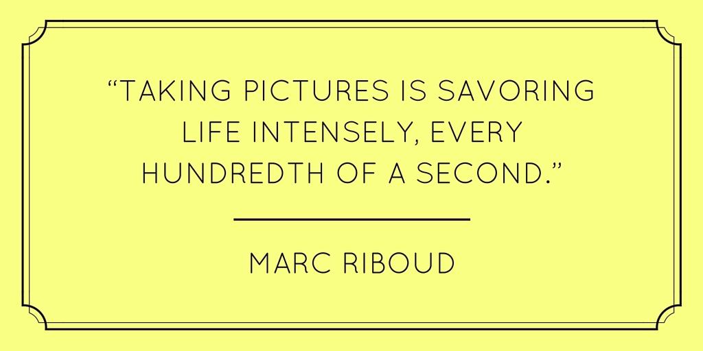Marc Riboud quote randomstoryteller.com