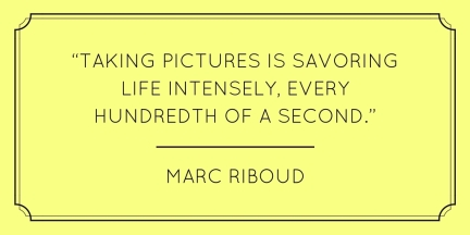 Marc Riboud quote randomstoryteller.com
