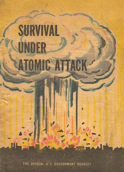illustrated government booklet on surviving atomic attack